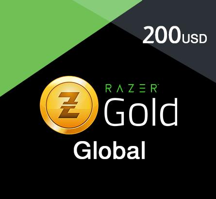 Razer Gold - $200 (Global)