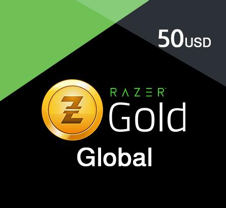 Razer Gold - $50 (Global) - TopUp