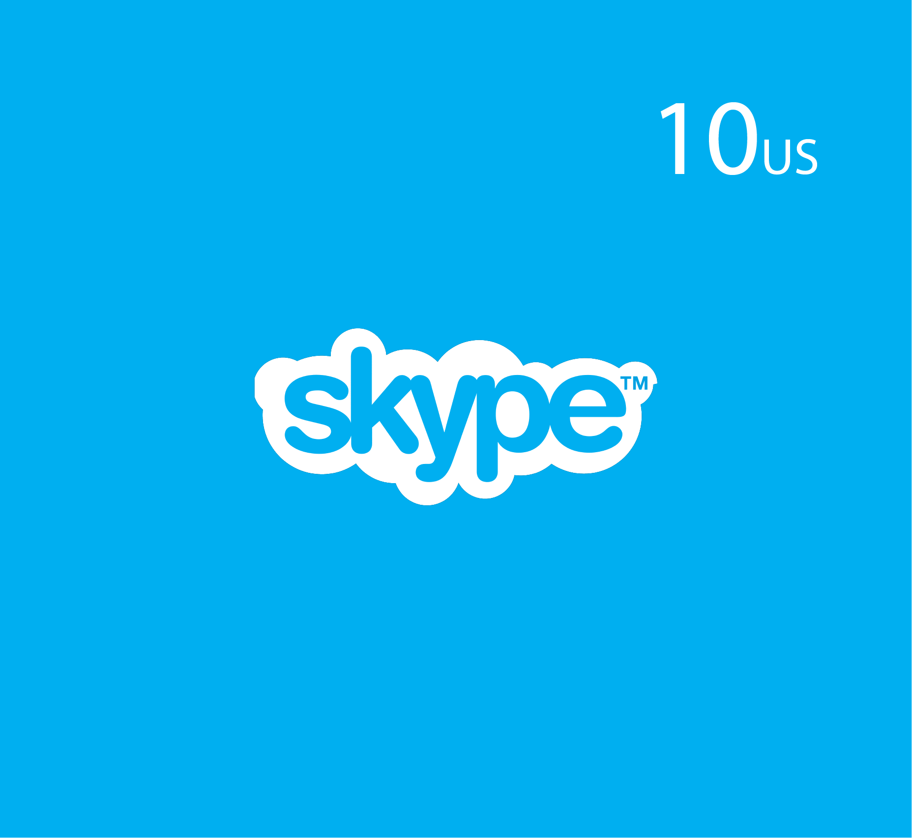 Skype 10 USD