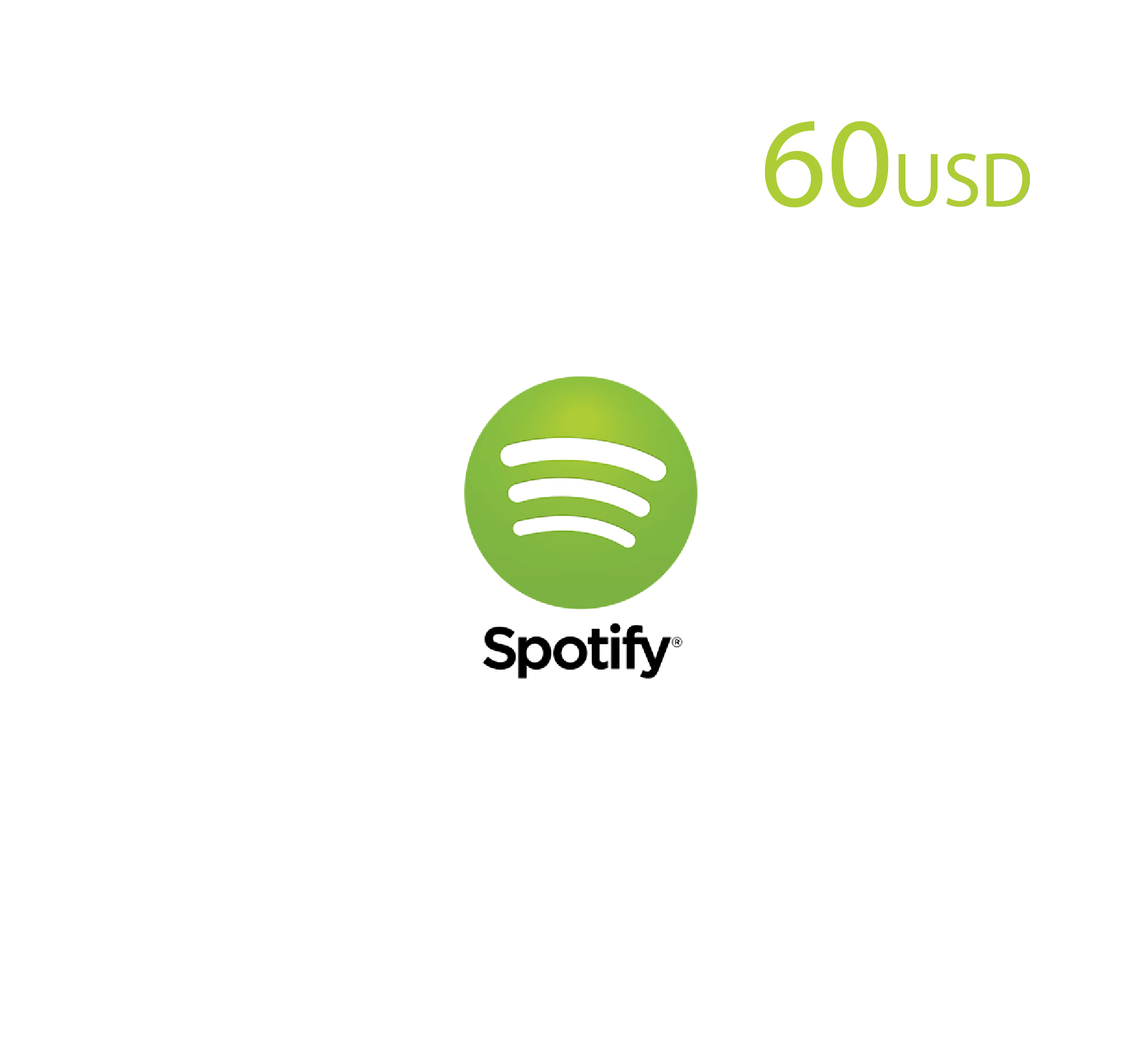 Spotify 60 USD (US Store)