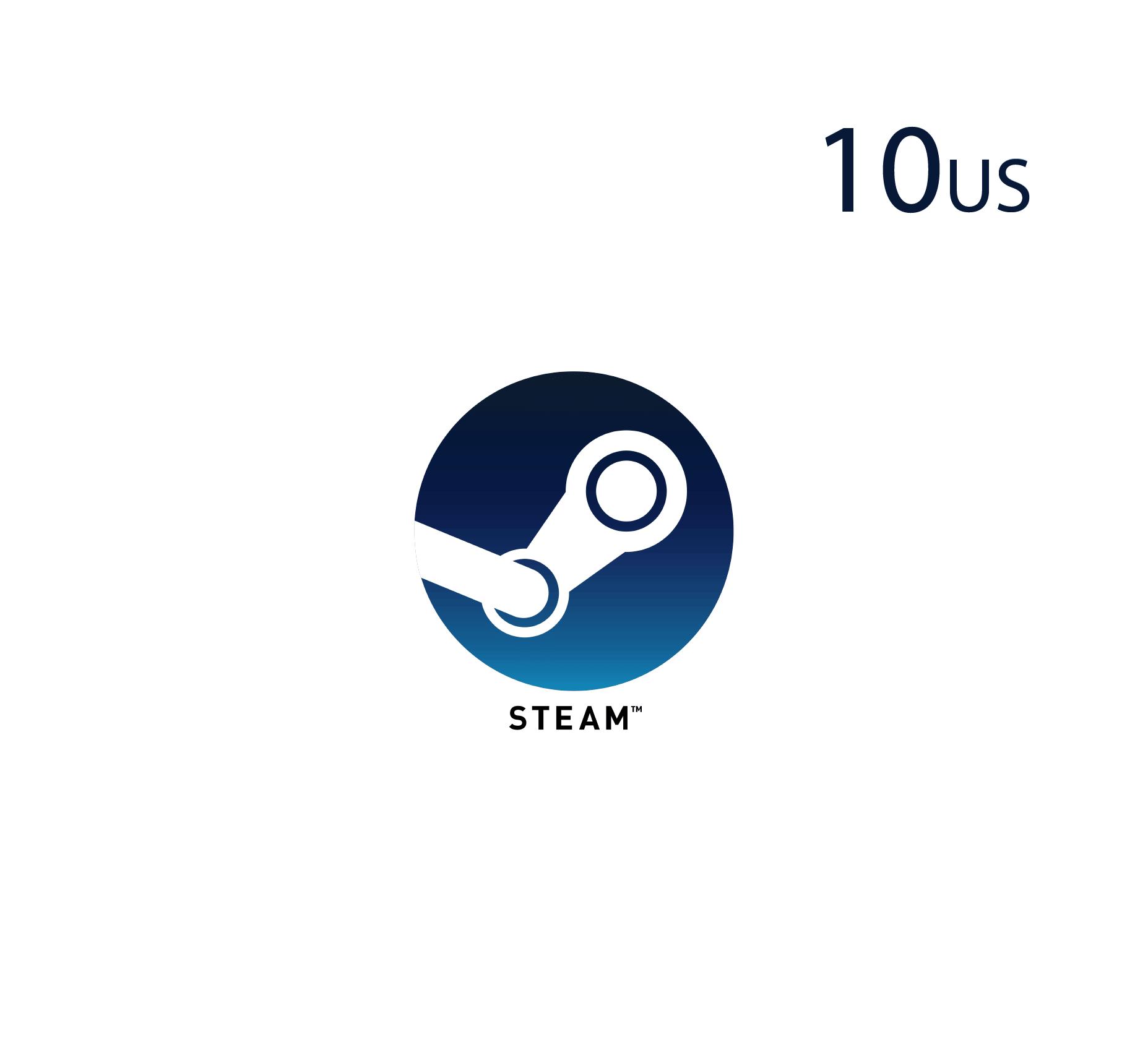 Steam Wallet - 10 USD
