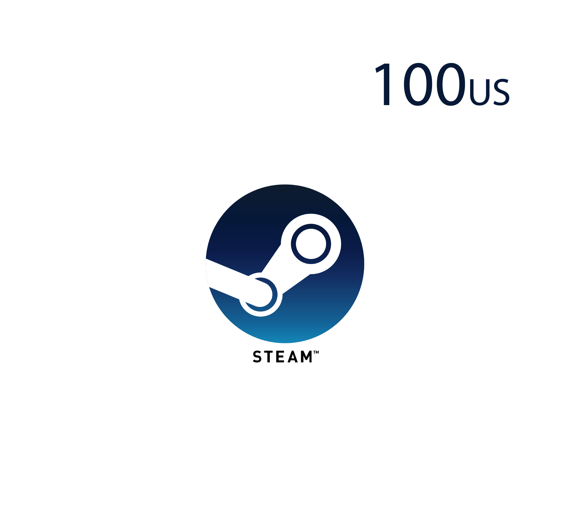 Steam Wallet - 100 USD