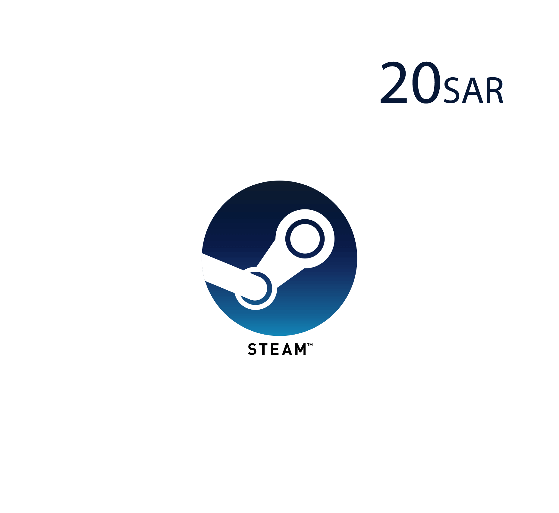 Steam Wallet - 20 SAR
