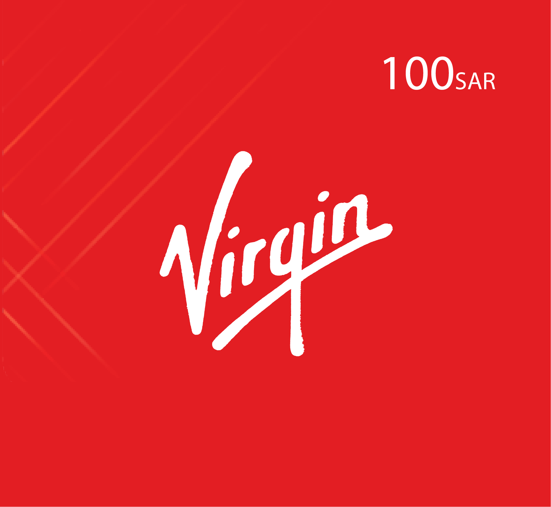 Virgin Recharge Card SR 100