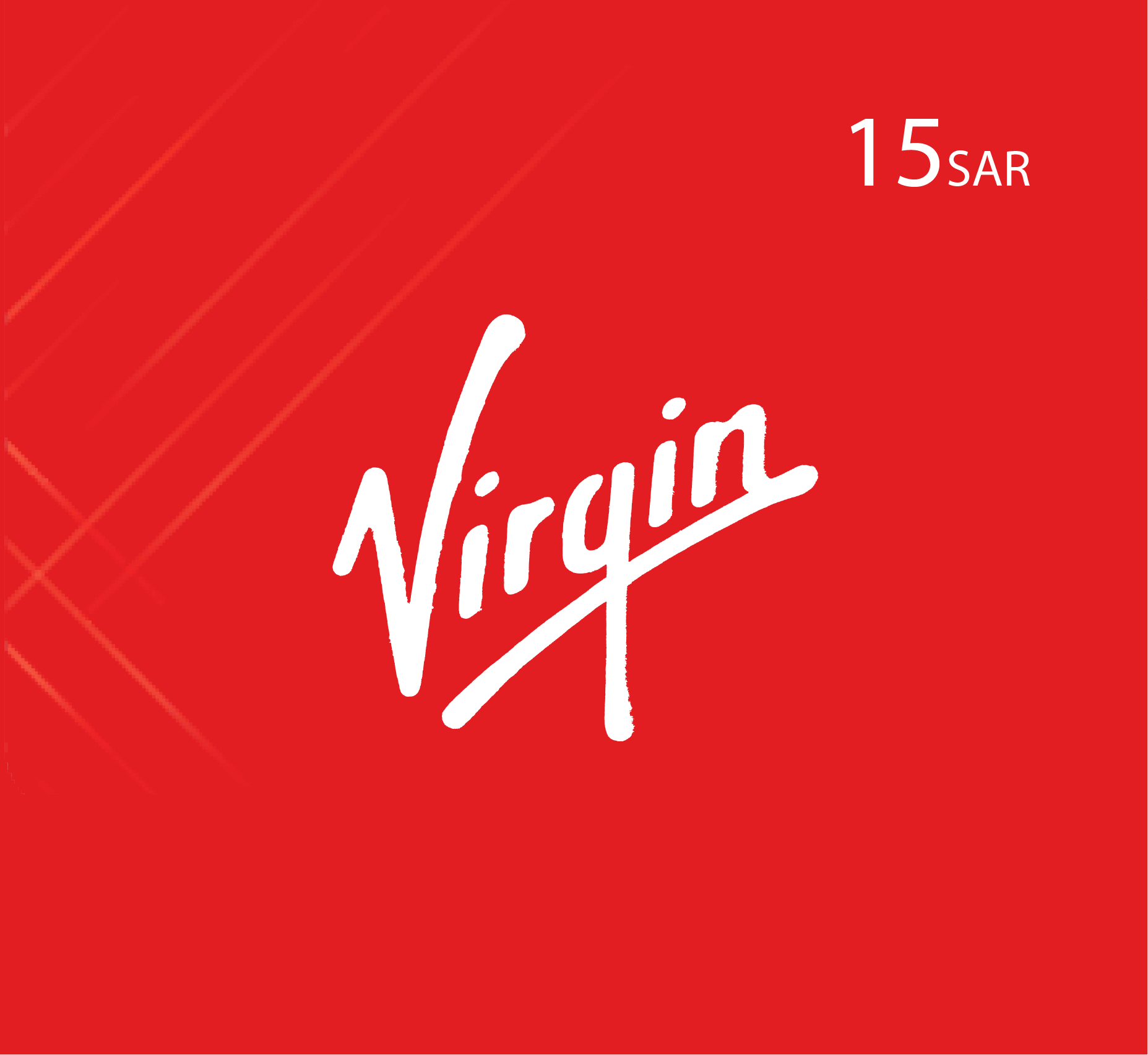 Virgin Recharge Card SR 15