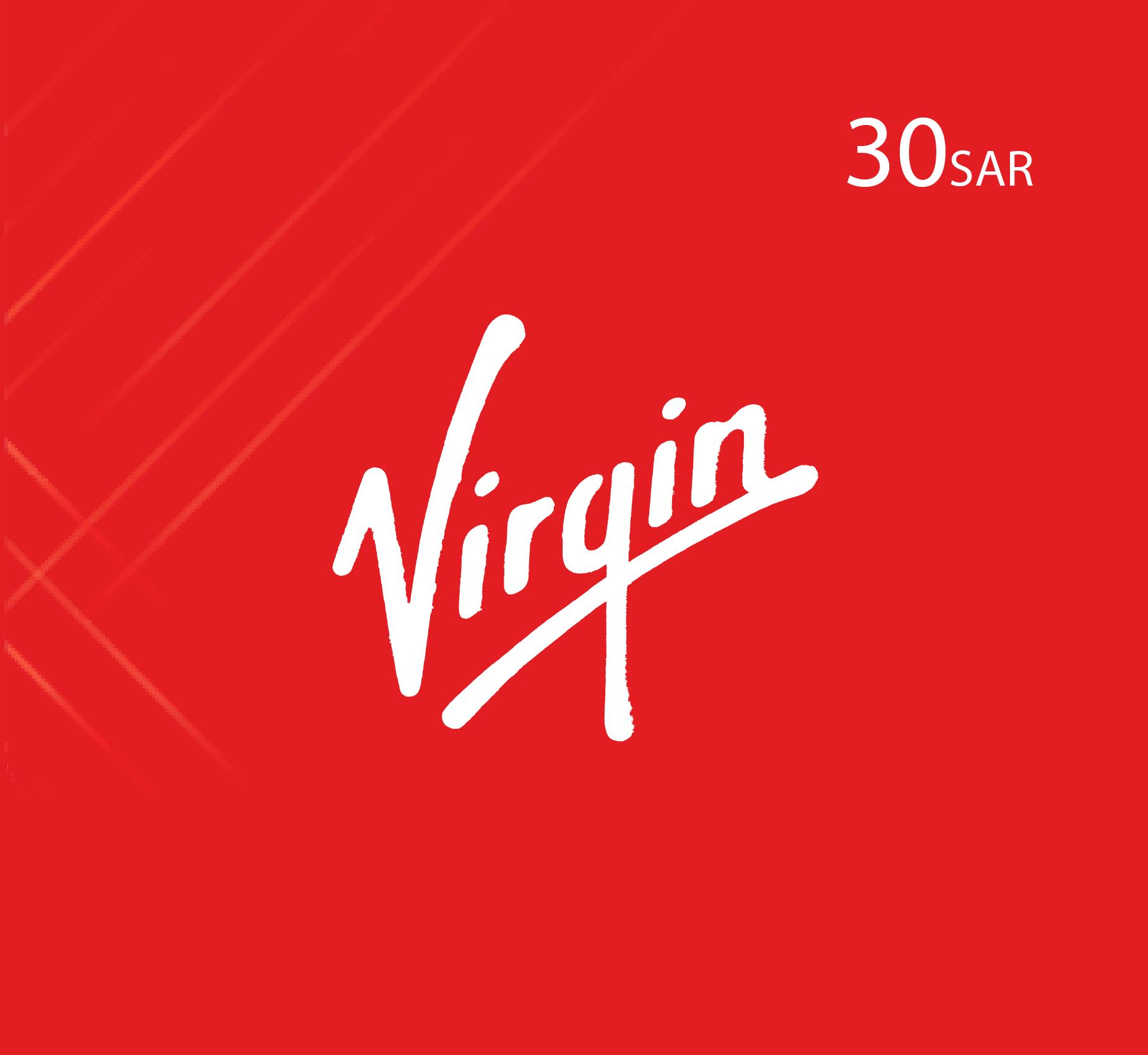 Virgin Recharge Card SR 30