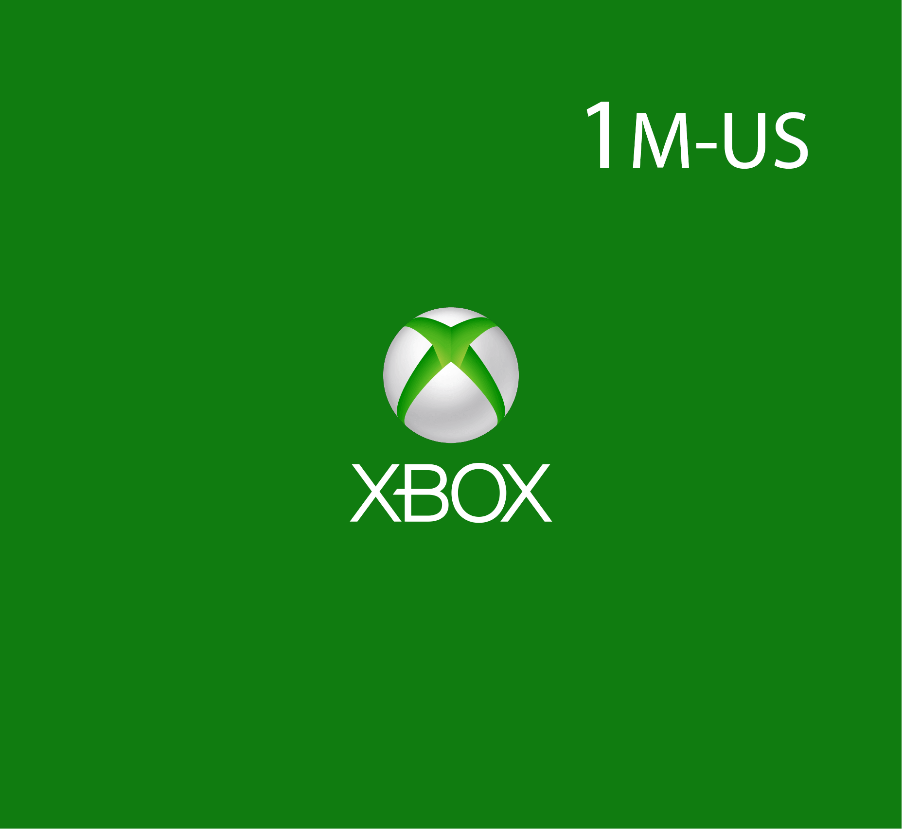 XBox Live - 1 Month (US Store)