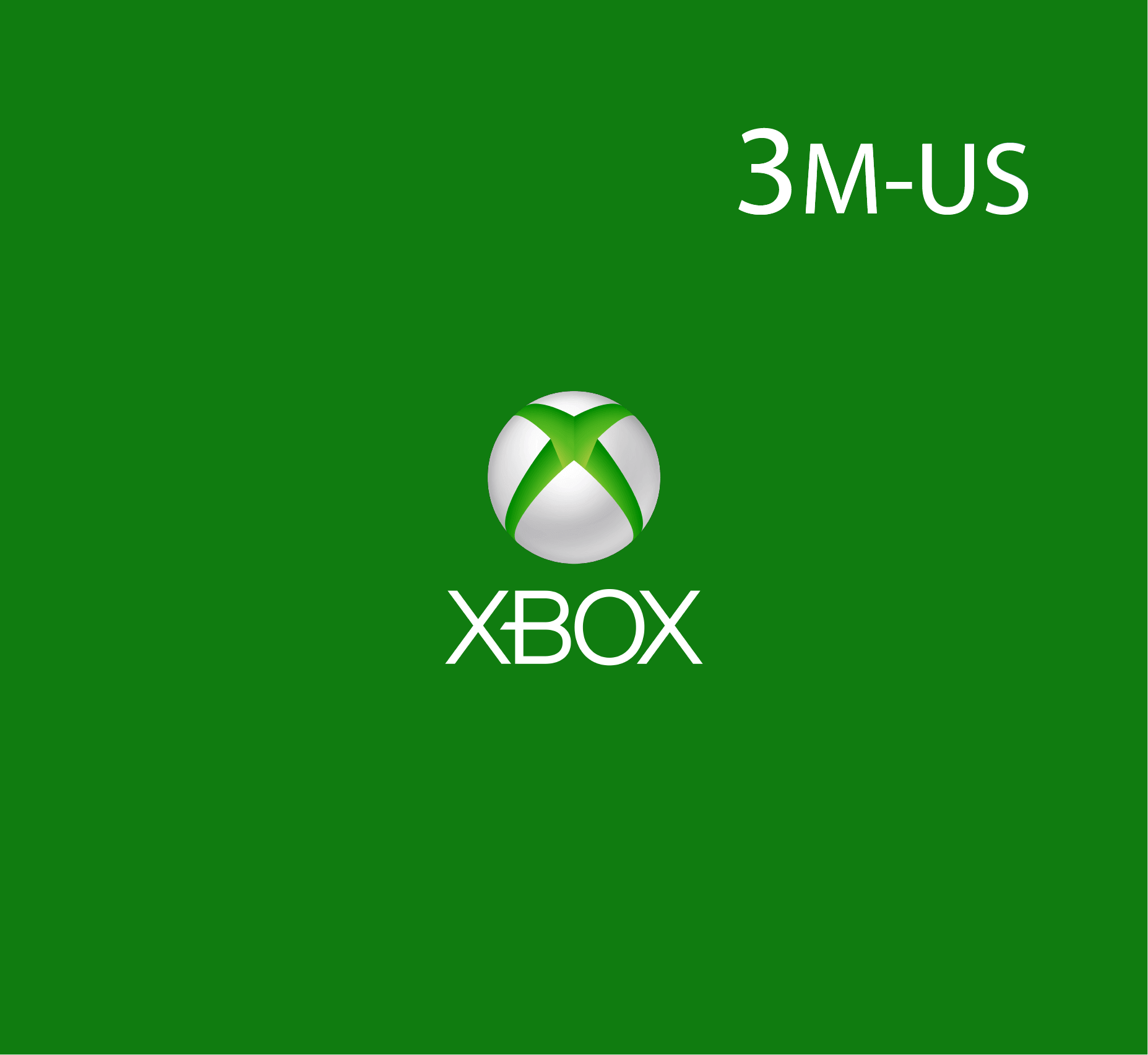 XBox Live - 3 Months (US Store)