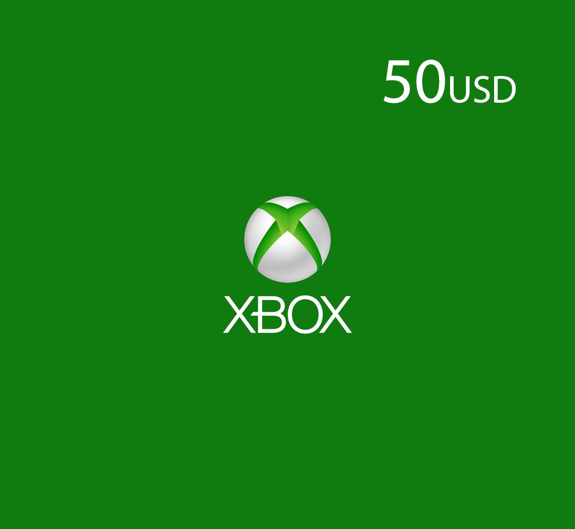 XBox Live - 50 USD (US Store)